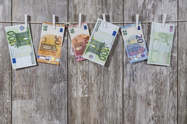 sušení peněž