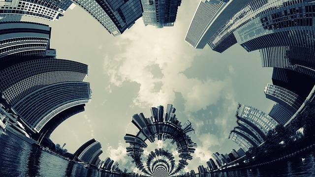 městské panorama