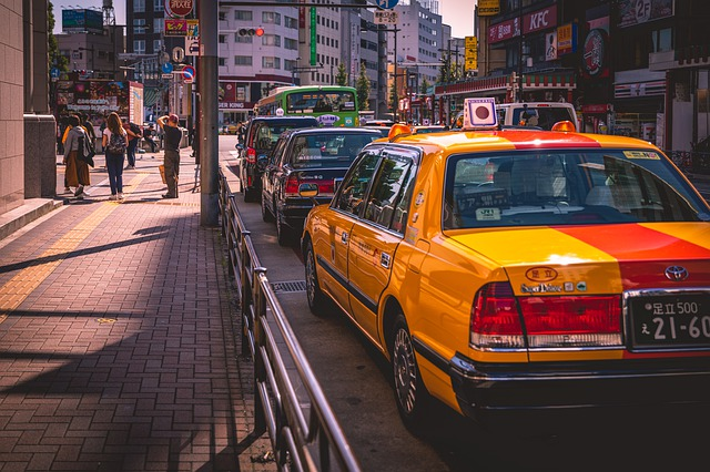 stanoviště taxi